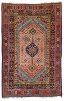 Antique Moroccan Rabat Rug