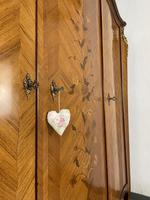 French Kingwood Floral Marquetry Armoire Ormolu Mounts Breakdown 3 Door Wardrobe (6 of 11)