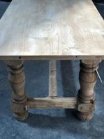 French large oak farmhouse dining table (22 of 38)