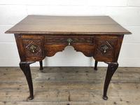 Antique 19th Century Carved Oak Lowboy Side Table (2 of 17)