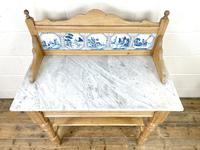 Antique Pine & Marble Washstand (5 of 10)