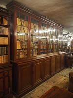 Large George III Style Mahogany 6 Door Cabinet Bookcase (9 of 17)