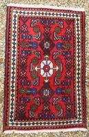 Small Hamadan Hand Woven Carpet (3 of 4)