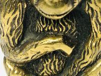 Small Brass Monkey Vesta Match Holder With Glass Eyes (5 of 17)