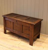 Original Late 17th Century Oak Coffer (9 of 11)