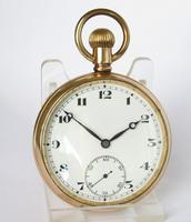 Vintage 1930s Record  Pocket Watch (2 of 4)