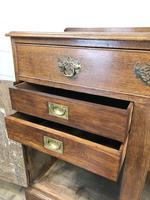 Antique Oak Cupboard on Bracket Feet (6 of 12)