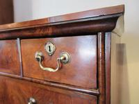 George I Period Figured Walnut Chest on Stand (4 of 12)