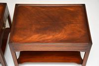 Pair of Georgian Style Mahogany Side Table c.1950s (12 of 12)
