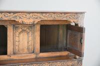 Dwarf Oak Court Cupboard (12 of 13)