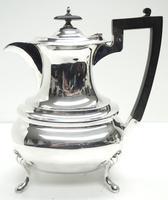 Impressive 5 Piece Silver Tea & Coffee Set Walker & Hall Sheffield 1917 (11 of 17)