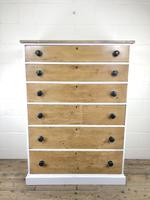 Victorian Pine Tall Chest of Drawers