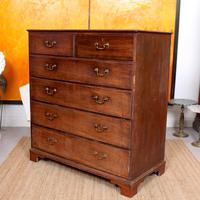 Georgian Chest of Drawers Mahogany Country Tallboy George IV (3 of 11)