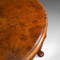 Antique Sofa Table, English, Walnut, Circular, Centre, Side, Edwardian, C.1910 (9 of 12)