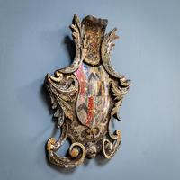 18th Century Painted Cartouche (2 of 9)