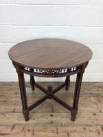 Antique Walnut Circular Centre Table (2 of 10)
