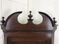 Antique Georgian Mahogany Hanging Corner Cupboard (7 of 11)