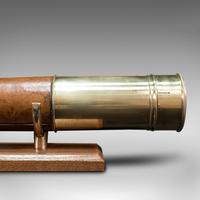 Antique Terrestrial Telescope, English, Single Draw Refractor, Nsl, Victorian (11 of 12)