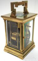 Superb Large Antique French 8-day Striking Carriage Repeat Feature Clock c.1880 (7 of 13)