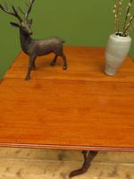 Antique 19th Century Sutherland Table, Drop Leaf Occasional Table for afternoon tea (15 of 17)