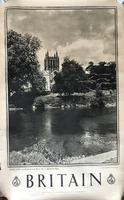 9 Original  Photogravure Printed Travel Posters from the Series 'Britain' by the Travel Association