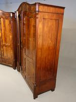 Quite Exceptional Pair of Mid 19th Century North European Wardrobes (4 of 7)