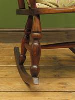 Antique Country Oak Rocking Chair with Nicely Aged Patina (14 of 14)