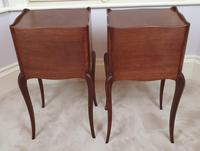 Early 20th Century Pair of Inlaid Kingwood Bedside Cabinets (4 of 5)