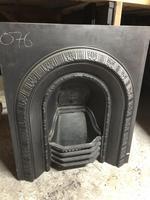 Antique Cast Iron Fireplace Insert