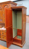 1900's Large Well Fitted Burr Walnut Compactum Wardrobe (3 of 7)