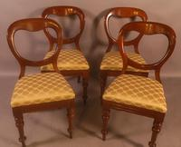 Set of 10 Victorian Mahogany Balloon Back Dining Chairs (12 of 12)