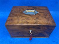 Walnut Jewellery Box c.1900 (9 of 14)