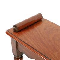 Victorian Mahogany Window Seat Bench (4 of 8)