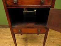 Antique 19th Century Gentleman's Washstand Cabinet, Bedside Cabinet (9 of 17)