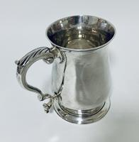 18th Century Georgian Solid Sterling Silver Tankard (9 of 16)