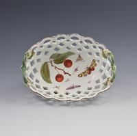 Fine Derby Porcelain Spectacle Basket c.1760-1765 (2 of 13)