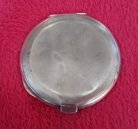 Silver & Enamelled Compact with Naval Sweetheart Badge (3 of 5)