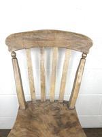 Set of Four Antique Farmhouse Kitchen Chairs (6 of 14)
