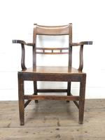 Antique 19th Century Welsh Oak Farmhouse Chair (2 of 10)