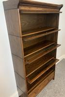 Antique Oak Stacking Lawyer's Bookcase (12 of 16)