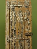 Rustic Painted Beach Shoes Cabinet, Boat House, Beach Hut Shabby Chic Cabinet (17 of 18)