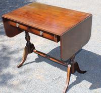 1960s Mahogany Sofa Table with Drawers (2 of 3)