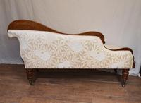 Regency Chaise Longue Sofa Walnut Lounge Day Bed (6 of 25)