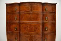 Large Antique Burr Walnut Chest of Drawers (5 of 11)