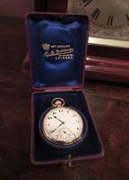Fine George V Period 9 Carat Gold Pocket Watch (5 of 9)