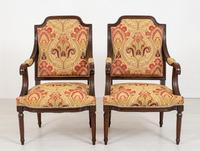 Pair of French Oak Open Armchairs (9 of 9)