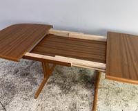 1970's Danish Long Walnut Dining Table by Skovby (6 of 7)