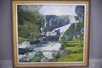 Large Waterfall Oil Painting (20 of 20)