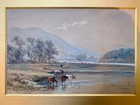 H Earp Senior - Set of Three Watercolours of cattle c1890 (4 of 7)