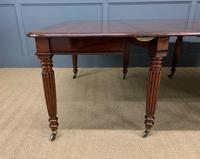 Gillows Style Regency Mahogany Dining Table (21 of 22)